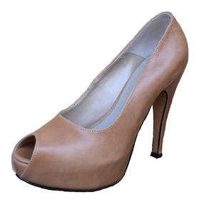 Zapatos 100Cuero Stilettos Sandalias Vacuno Plataformas iXPuOZkwT
