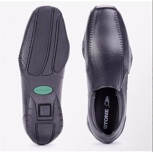zapatos stone slack 1414 - negro - zapatos cuero hombre