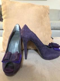 O Para De Violeta Tinte Ante Oscuro En Zapatos Gamuza qpGMSzUVjL
