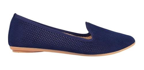 zapatos stylo 1905 suede azul