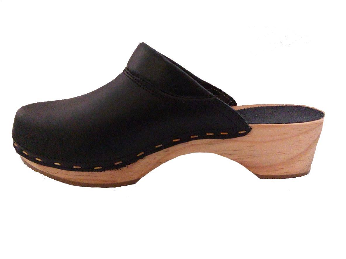 Zapatos Suecos Ortopédicos Suela De Madera Y Piel -   420.00 en ... 91df8fde5a9f9