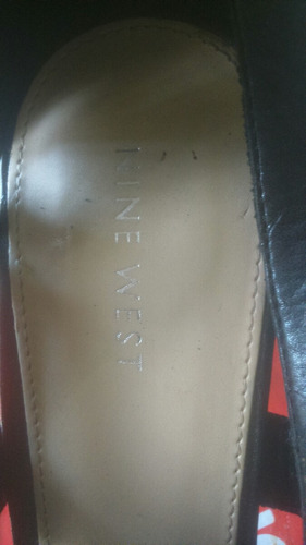 zapatos taco alto nine west