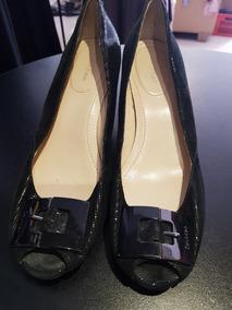 Zapatos 38 Chino Taco Talle Calvin Klein Marca 0knwOP