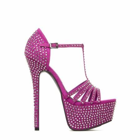 zapatos taco plataforma 8 38 fiesta varios importado stock