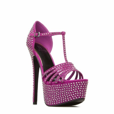 zapatos taco plataforma guinda 8 38 fiesta dscto stock