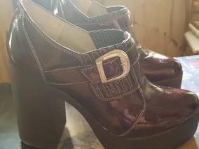 CmY Luna Tacon10 Vino Zapatos Leila PlataformaColor dxroCWQBe
