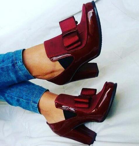 zapatos tacón con