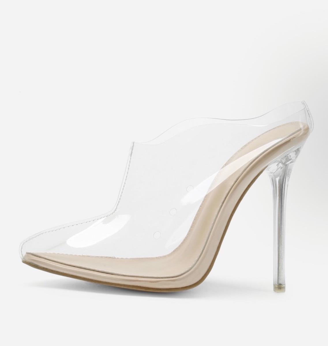 b63e03d172aba Zapatos Tacon Kim Kardashian Y Kylie Transparentes De Moda ...