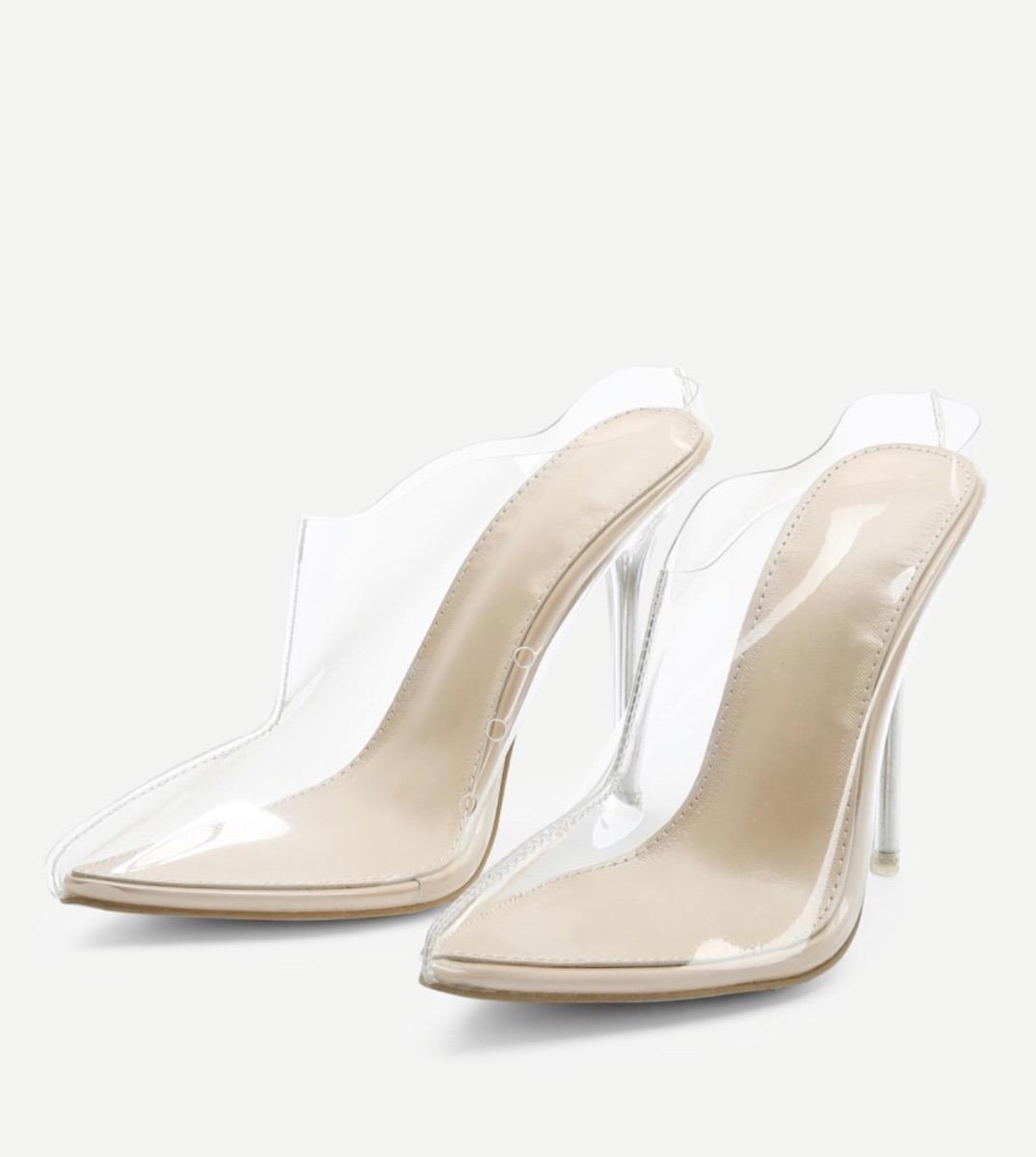 Zapatos Kardashian Transparentes Tacon Kylie Moda Kim Y De ARj345L