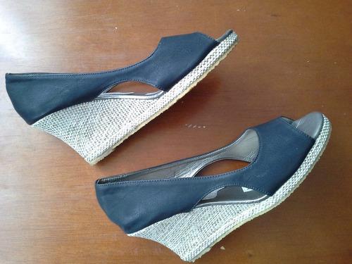 zapatos tacón para dama talla 36