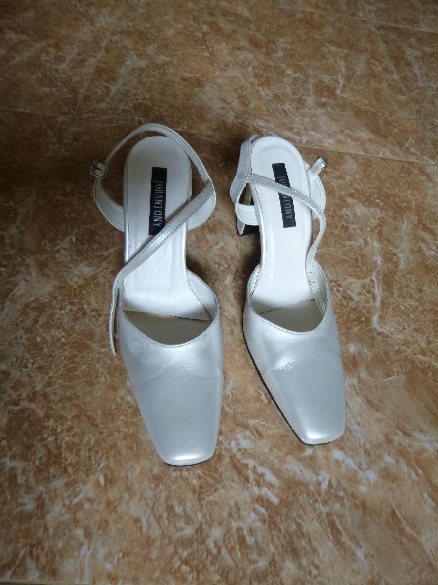 3949ca4a Zapatos Tacones Blancos Para Boda - Bs. 5.500,00 en Mercado Libre