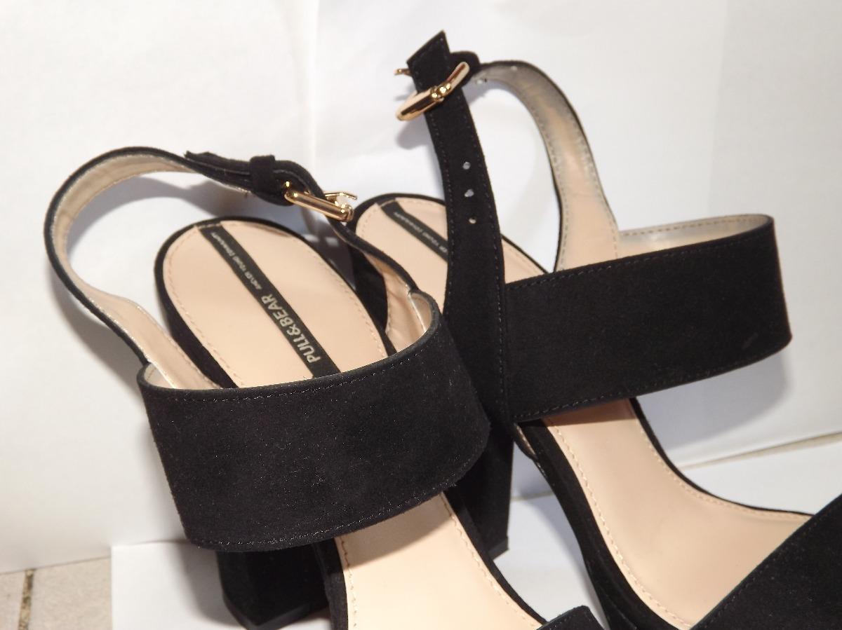 Zapatos Dama Gamuzados Bear Pull 160 De Negros Bs Tacones amp; aqFx1wq4Z 39 cwxtfHI8fq
