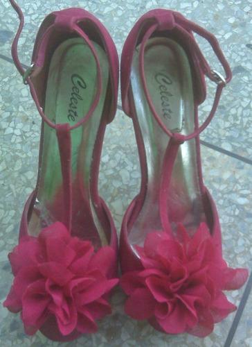 zapatos tacones para dama talla 40
