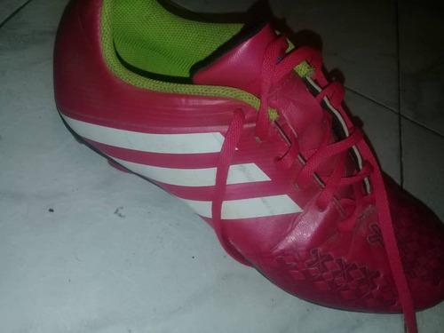 zapatos tacos de futbol adidas predito originales
