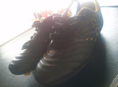zapatos tacos futbol  originales kappa intactos como nuevos