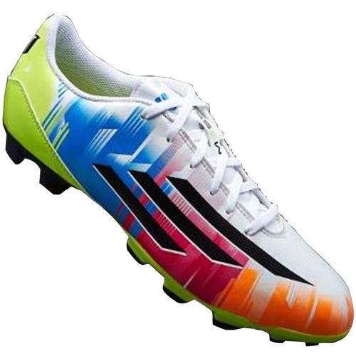 zapatos tacos para fútbol campo adidas messi para niños