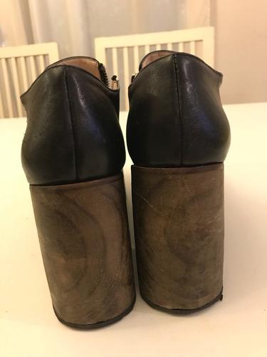 zapatos talle 40 new factory impecables y comodos