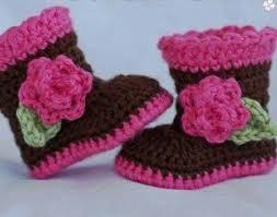 zapatos tejidos bebes