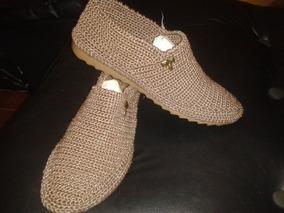 f1853b06 Zapatos Tejidos A Mano - Zapatos Mujer en Mercado Libre Venezuela