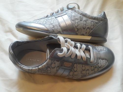 zapatos / tenis coach de mujer medida 4 nuevos sin caja