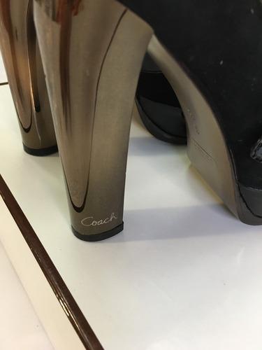 zapatos / tenis coach de mujer medida 5 nuevos con caja