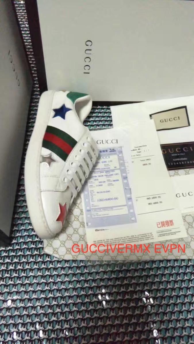 61d934df3 Zapatos Tenis Gucci Hombre Mujer Originales - $ 3,800.00 en Mercado ...