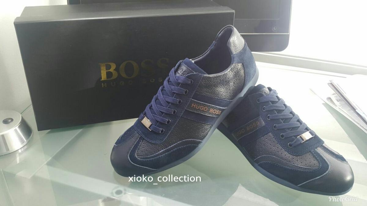 ceb6a599fe2 Zapatos Tenis Hugo Boss Hombre -   259.990 en Mercado Libre