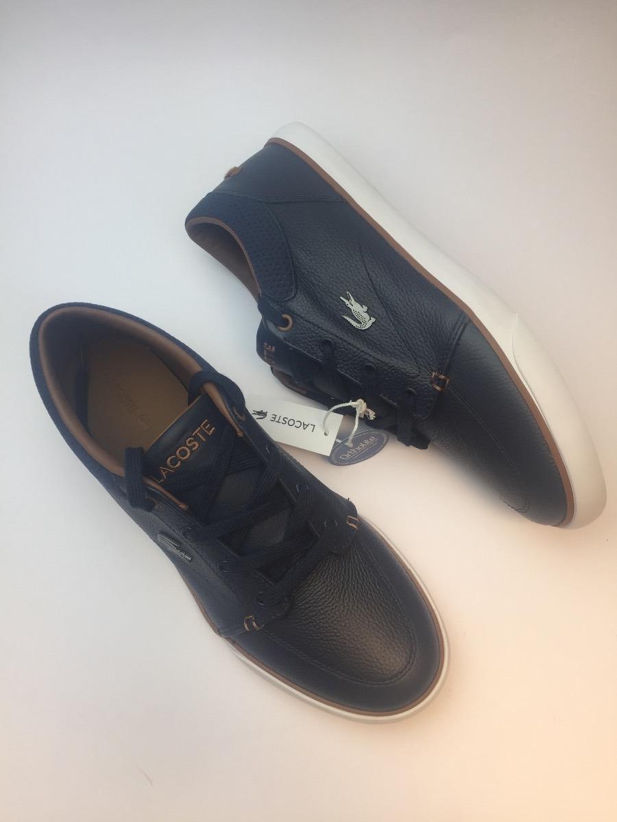 Zapatos Tenis Lacoste Hombre Talla 9 Original Cuero -   199.900 en ... 3ea01494b7