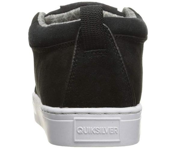 bbd6fbe75d916 Zapatos Tenis Quiksilver Griffin Color Negro Blanco Talla 26 ...