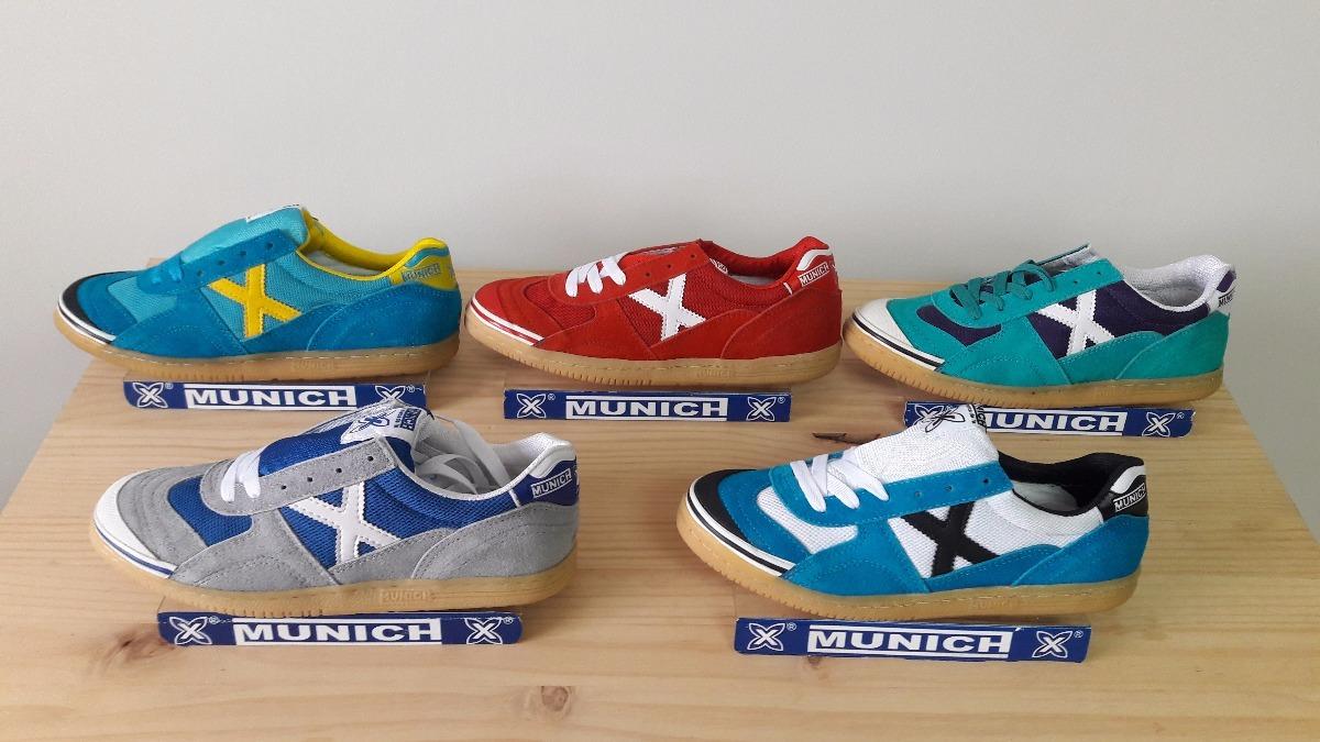 Zapatos Tenis Zapatillas Munich Para Futbol Sala Y Salon
