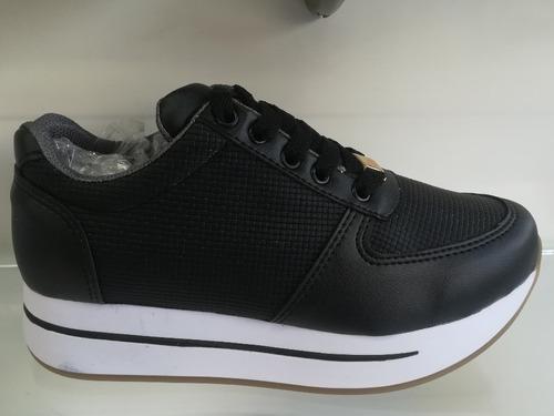 zapatos tennis altos de mujer