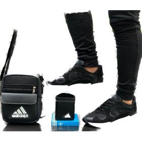 Zapatos Tennis De Caballeros + Bolso + Billetera + Envío Gra