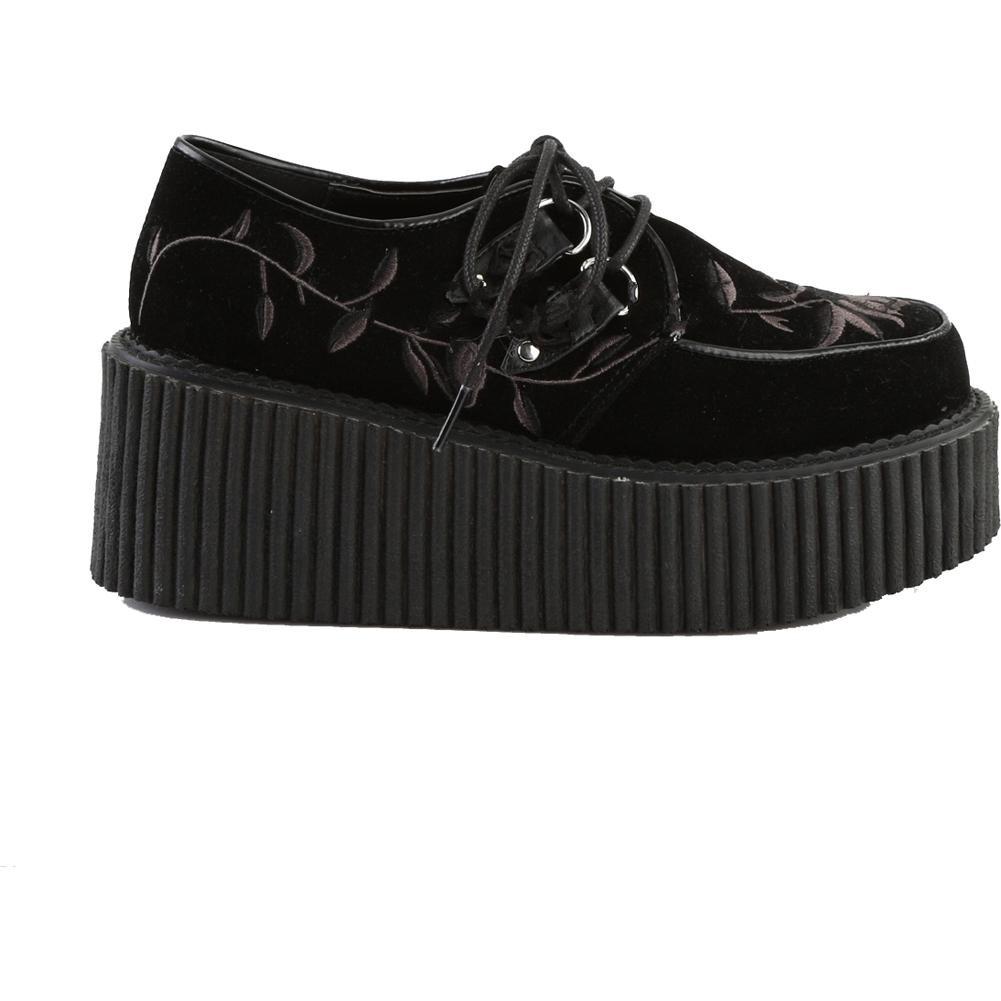 Creeper 219 Zapatillas Negro Demonia A6n9et9Aw1