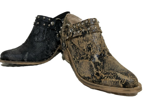 zapatos texana mujer