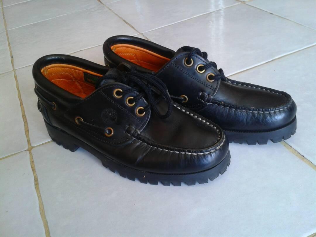 texto Del Sur telar  Zapatos Timberland Clasic Corte Bajo Cuero Negro Talla 34 - Bs. 700,00 en  Mercado Libre