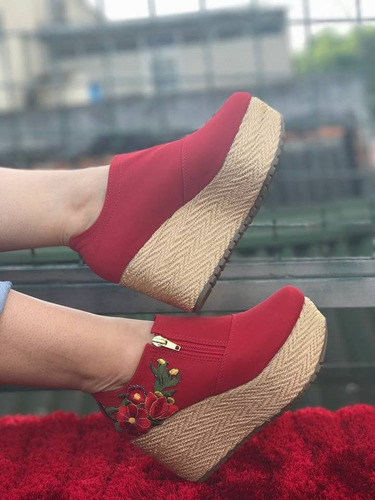 zapatos tipo botin dama calidad colombiana