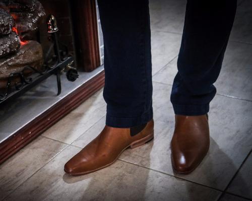 zapatos tipo botita para hombres de vestir, moda, calidad