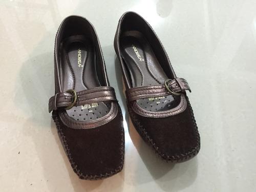 zapatos tipo cholas andrea para dama número 4.5