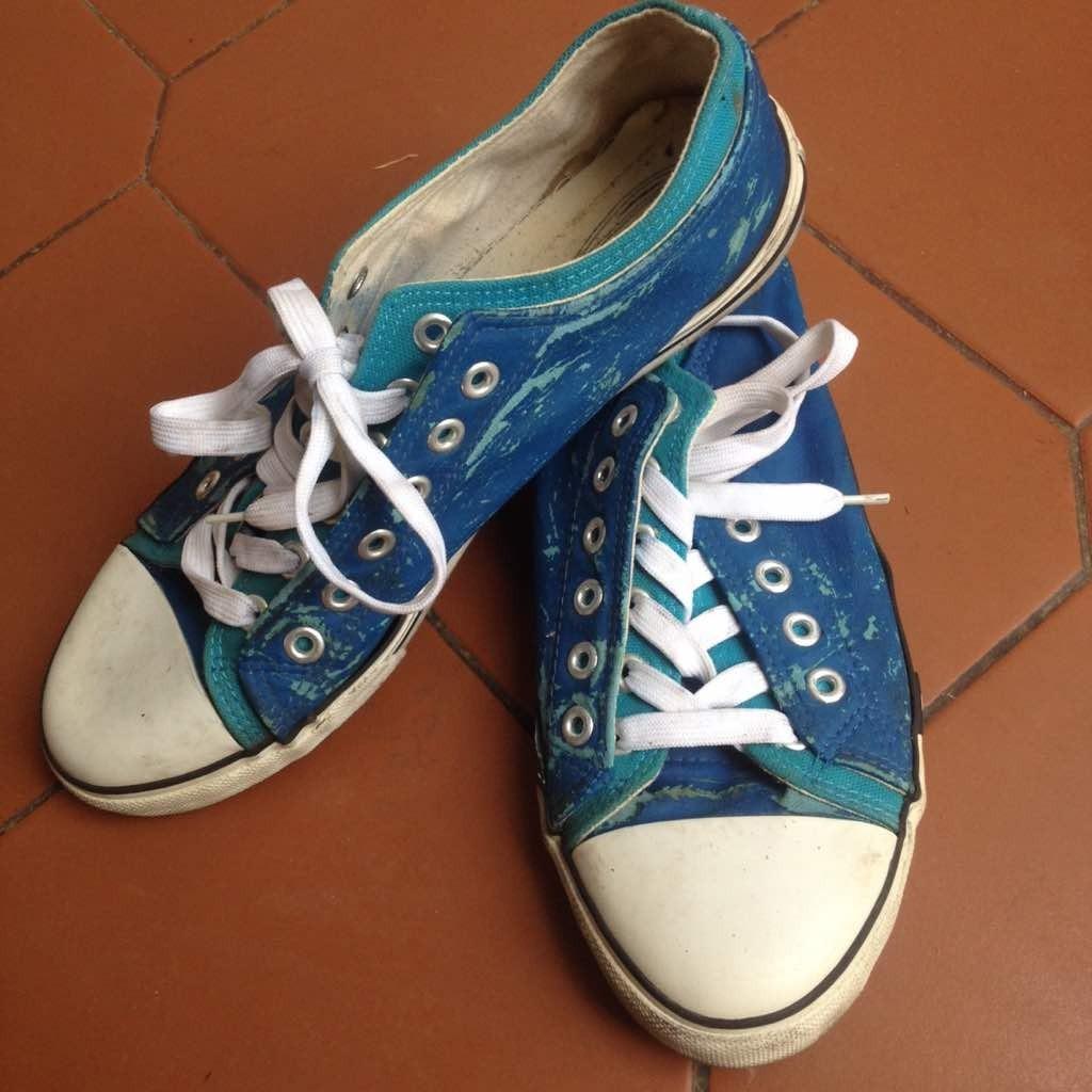 Usados Bs Talla Tipo 00 5 Zapatos Converse 000 En 43 Azul Color 0qFgYxO