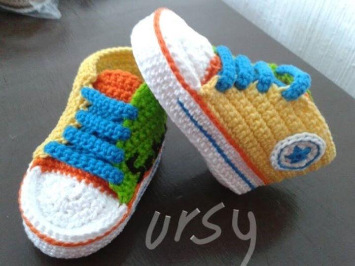 Tipo Converse Zapatos Tipo Crochet En Zapatos dWrxeCoB