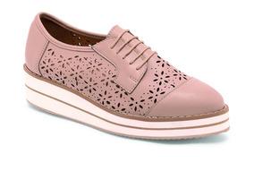 Para Rosa Oxford Con Zapatos Plataforma Dama Tipo Color EW9D2IH