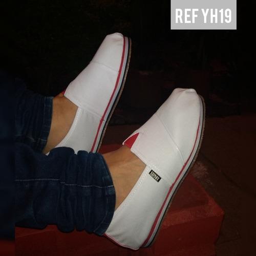 zapatos tipo toms para toda la familia