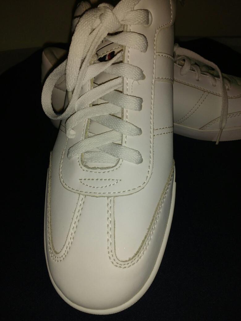 04402430158 zapatos tommy originales caballeros blanco talla 42. Cargando zoom.