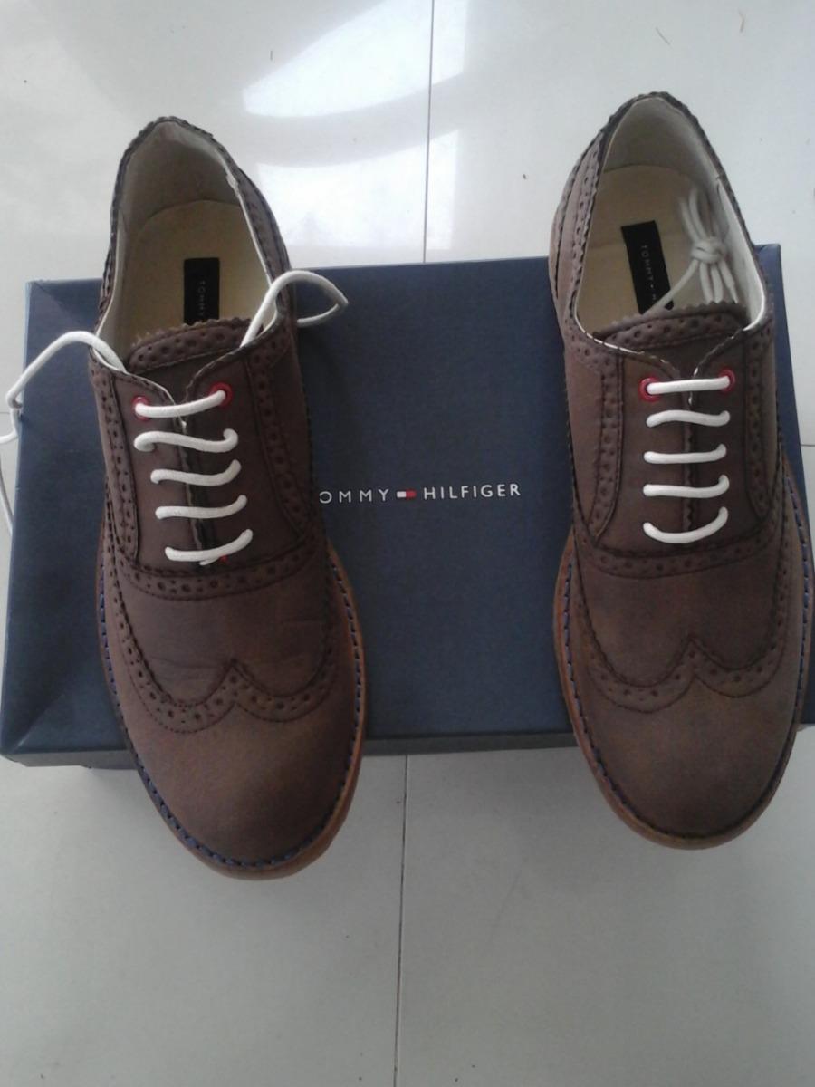 1eb7b44b788 Zapatos Tommy Originales Tipo Gamuza Talla 42 1 2 Nuevos - Bs ...