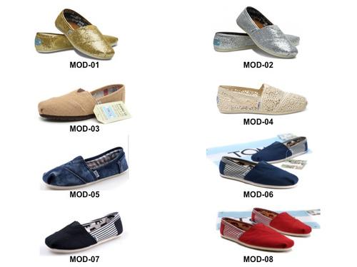 zapatos toms variedad modelos y colores mayor y detal