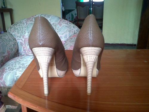 zapatos totalmente nuevos numero 36 marca exotika
