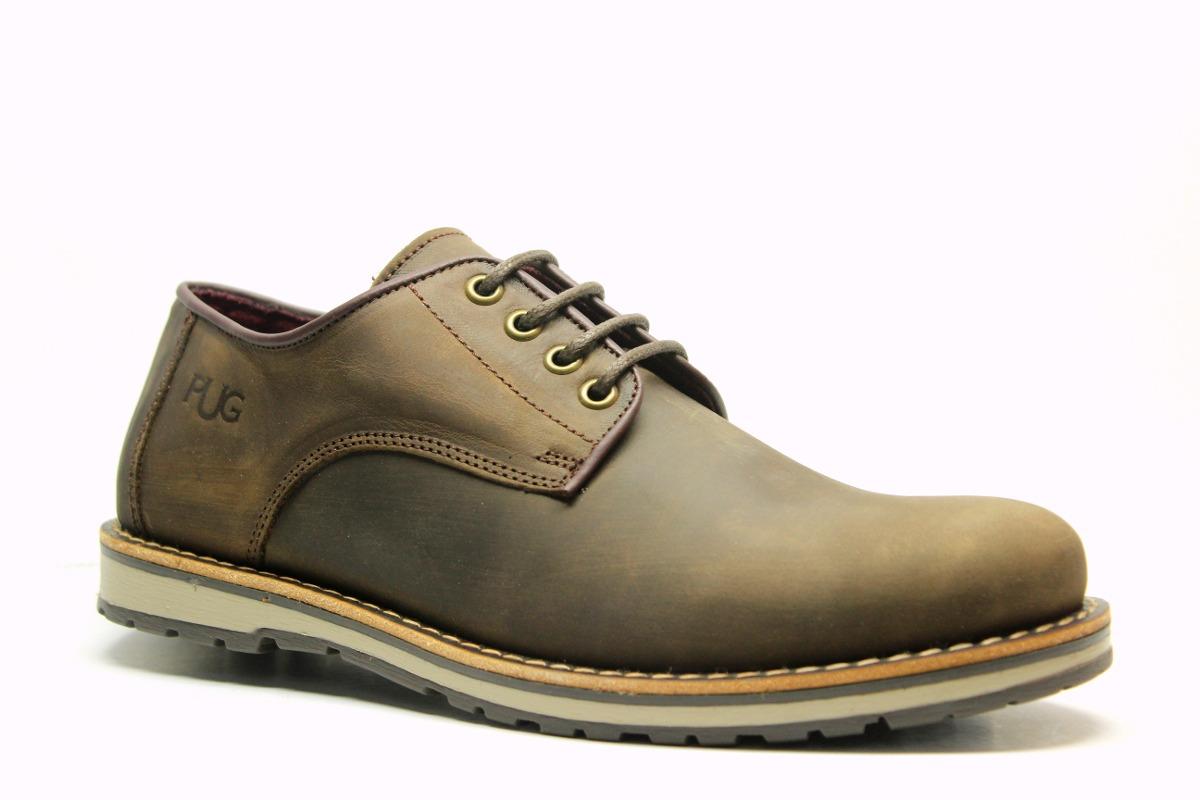 various colors 76ace c76eb Zapatos Urbanos De Cuero Engrasado Pataugas Loick Marrón -   1.799 ...
