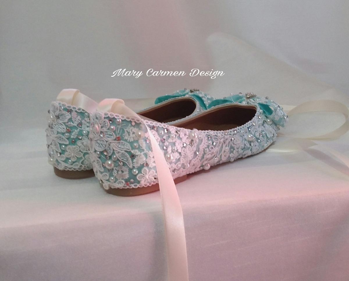 f593afe973f Zapatos valerinas para novia primera comunión cristal cargando zoom jpg  1200x967 Cristal zapatos primera comunion
