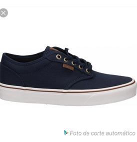 zapatos vans azules