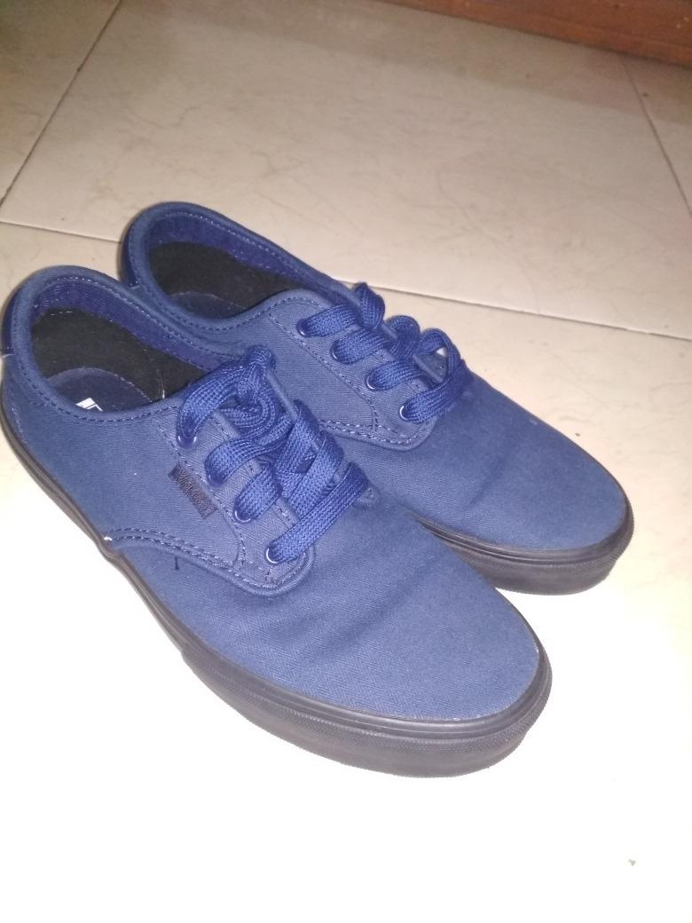 Mercado Zapatos Vans En 500 Azules Libre 25 zUzwrqX